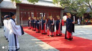 纪念孔子诞辰2570年释奠礼在沧州文庙举行